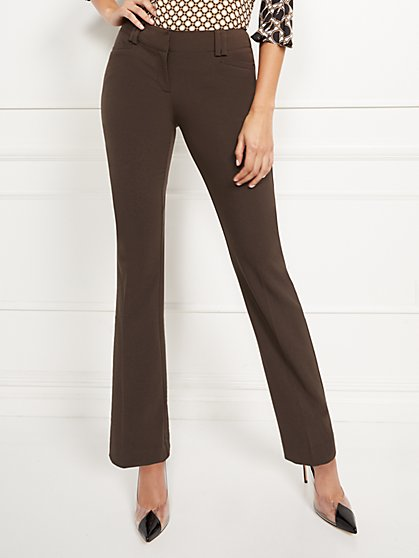 Straight-Leg Pant - Signature - Double Stretch - 7th Avenue - New York & Company