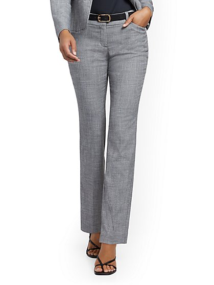 Straight-Leg Pant - Signature Fit - 7th Avenue - New York & Company