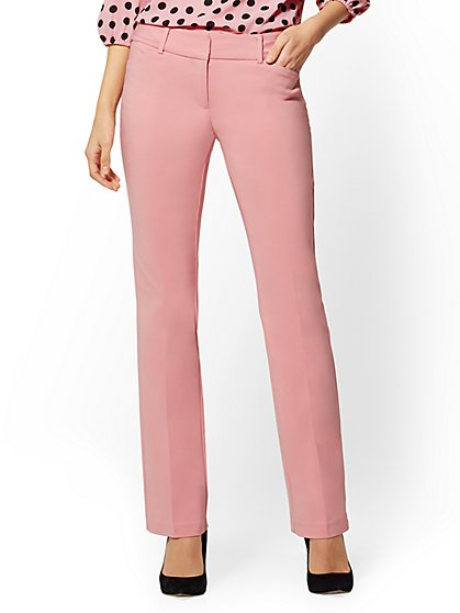Straight-Leg Pant - Signature Fit - All-Season Stretch - 7th Avenue - New York & Company
