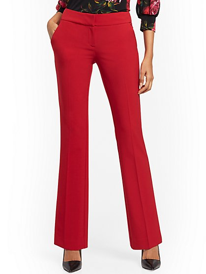 Straight-Leg Pant - Signature Fit - Double Stretch - 7th Avenue - New York & Company