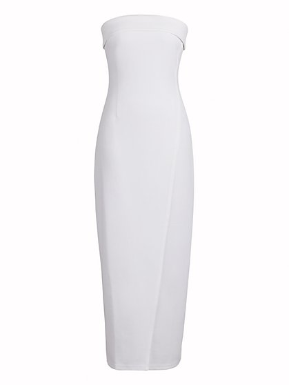 Strapless Form-Fitting Maxi Dress - New York & Company