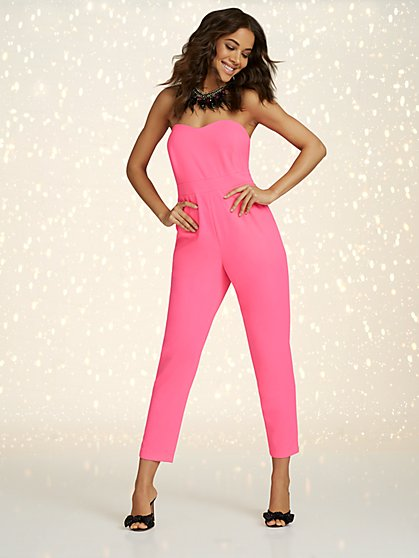 Strapless Jumpsuit - Magic Crepe® - New York & Company