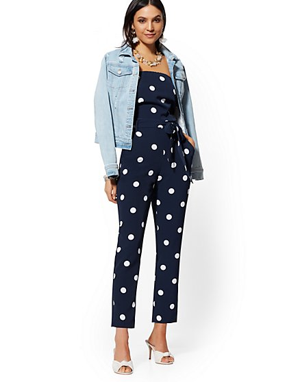 Strapless Madie Jumpsuit - 7th Avenue - New York & Company