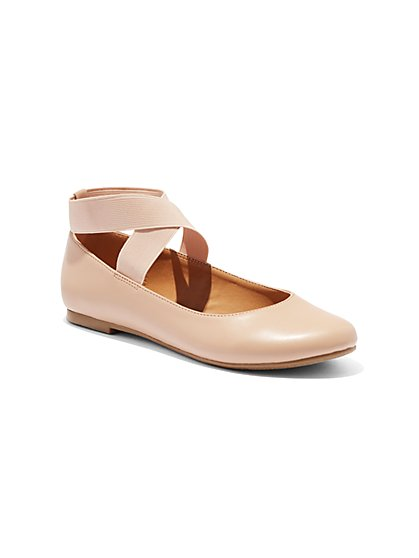 Strappy Ballet Flat - New York & Company