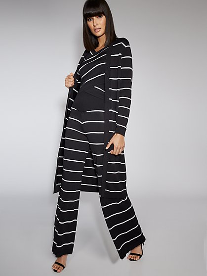 Stripe Duster Cardigan - Gabrielle Union Collection - New York & Company