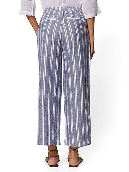 de4f12e8f58 ... Stripe Linen Wide-Leg Pant - New York   Company