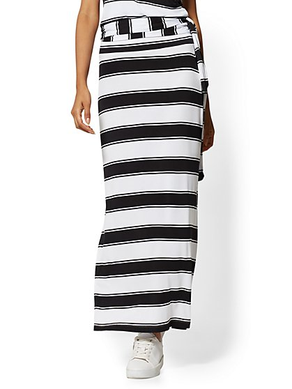 Stripe Maxi Skirt - Soho Street - New York & Company