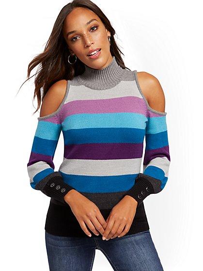 Off the Shoulder & Cold Shoulder Tops | New York & Company