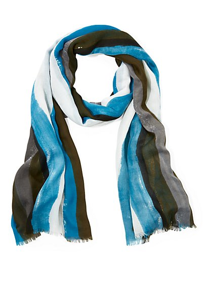 Stripe Oblong Scarf - New York & Company