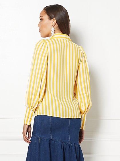 374d7c05dd70d ... Stripe Reva Blouse - Eva Mendes Collection - New York   Company ...