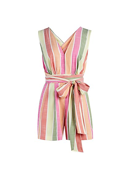 Stripe Romper - New York & Company
