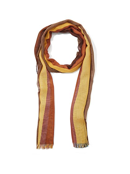 Stripe Scarf - Eva Mendes Collection - New York & Company