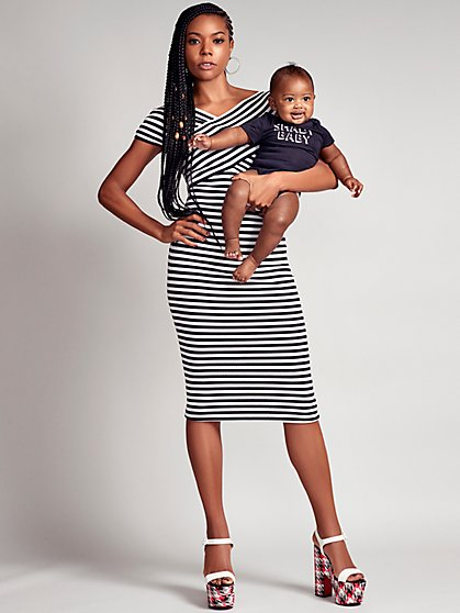 Stripe Sheath Sweater Dress - Gabrielle Union Collection - New York & Company