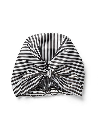 Stripe Shower Cap - New York & Company