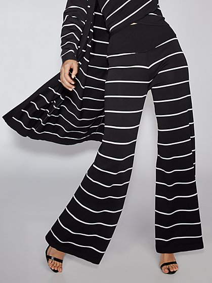 Stripe Sweater Pant - Gabrielle Union Collection - New York & Company