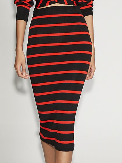 Stripe Sweater Pencil Skirt - Gabrielle Union Collection - New York & Company
