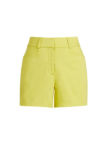 Structured 4-Inch Short - 7th Avenue - New York & Company