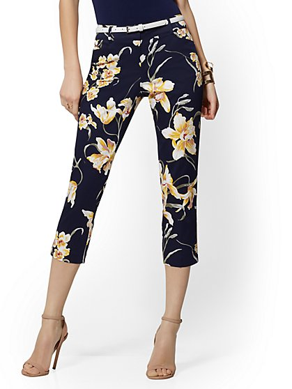 Structured Crop Pant - 7th Avenue - New York & Company