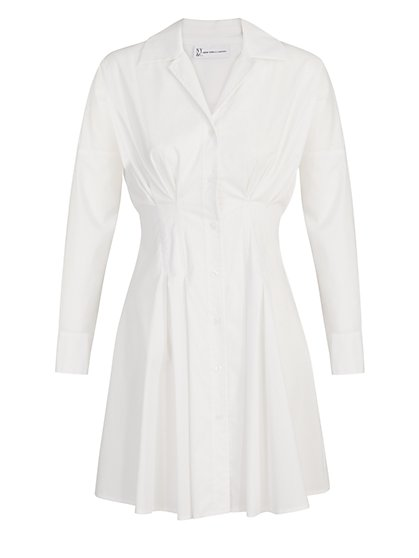 Structured Poplin Shirtdress - The NY&C Legacy Collection - New York & Company