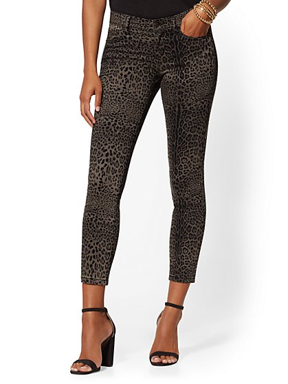 Super-Skinny Jeans- Cheetah Print - New York & Company