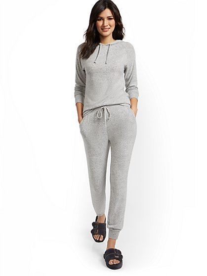 Super-Soft Knit Slim Jogger Pant - New York & Company