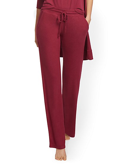 Super-Soft Knit Wide-Leg Pant - New York & Company