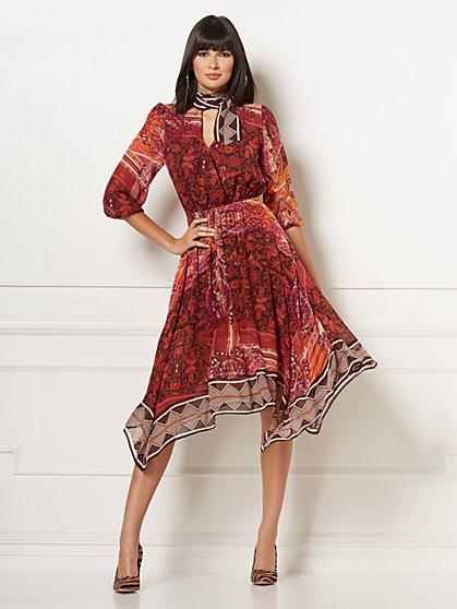 Talitha Wrap Dress - Eva Mendes Collection - New York & Company ...