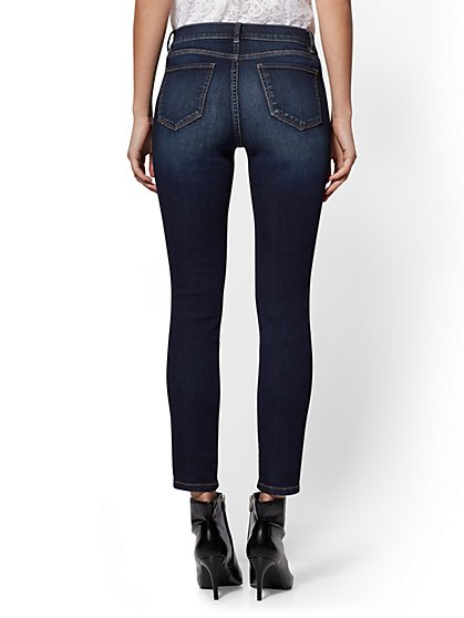 67cd5109e4cb ... Tall Ankle Legging - Bluebird Blue- NY C Runway - Ultimate Stretch -  Soho Jeans -