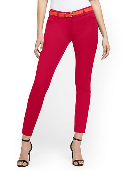 Tall Audrey Ankle Pant - Solid - New York & Company