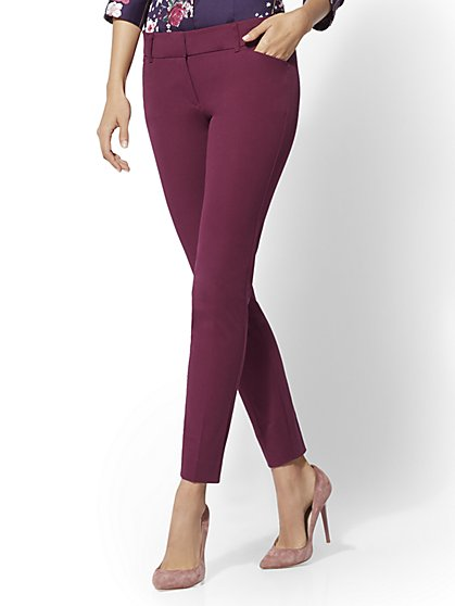 Tall Audrey Pant - Slim Leg - Solid - New York & Company