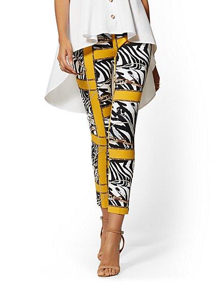 78a90c93f06 Tall Audrey Slim Leg Ankle Pant - Zebra   Link Print - New York   Company  ...