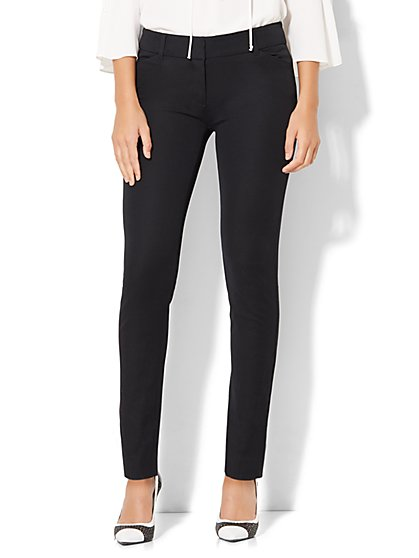 Tall Audrey Slim Leg Pant - Solid - New York & Company
