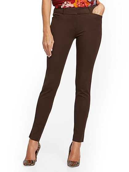 Tall Audrey Slim-Leg Pant - Solid - New York & Company