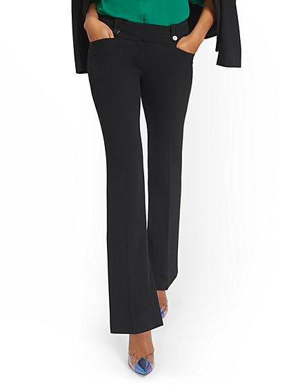 Tall Barely Bootcut Pant - Mid-Rise - 7th Avenue - New York & Company