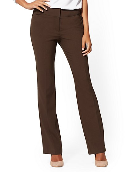 Tall Barely Bootcut Pant - Modern - All-Season Stretch - 7th Avenue - New York & Company
