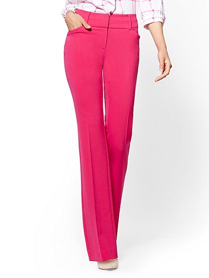 Tall Barely Bootcut Pant - Modern - Double Stretch - 7th Avenue - New York & Company