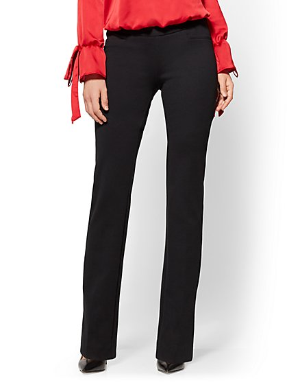 Tall Bootcut Pull-On Pant - Signature Fit - 7th Avenue - New York & Company