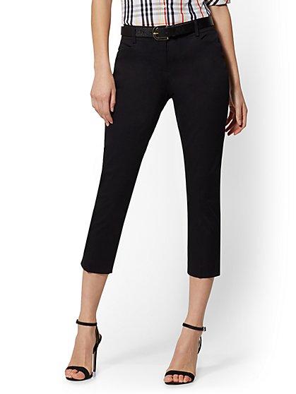 9f9376658dcb Tall Crop Slim-Leg Pant - Signature Fit - 7th Avenue - New York ...