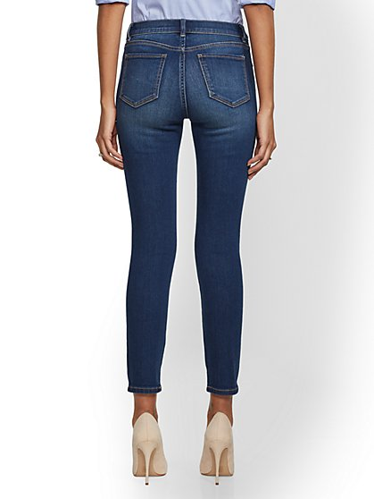 6e06c7d7fd ... Tall Destroyed Ankle Legging- NY C Runway - Ultimate Stretch - Soho  Jeans - New York