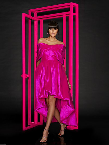 Tall Dramatic Bow Dress - New York & Company
