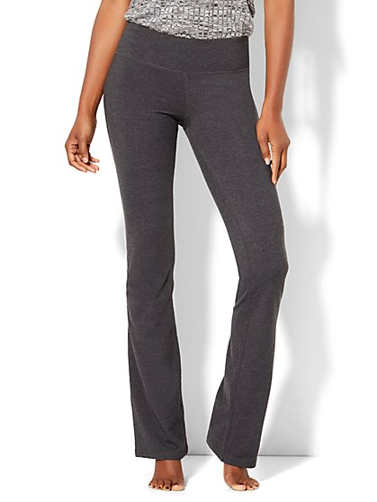 Tall Grey Bootcut Yoga Pant - New York & Company