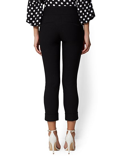 Tall High Waist Pull On Crop Pant New York Company