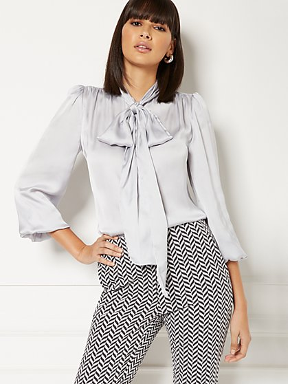 Tall Isabella Bow Blouse - Eva Mendes Collection - New York & Company