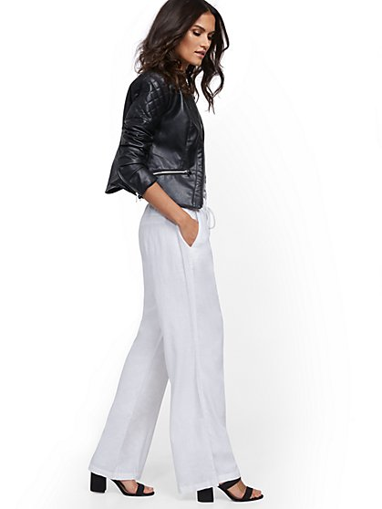 Tall Linen Wide-Leg Pant - New York & Company