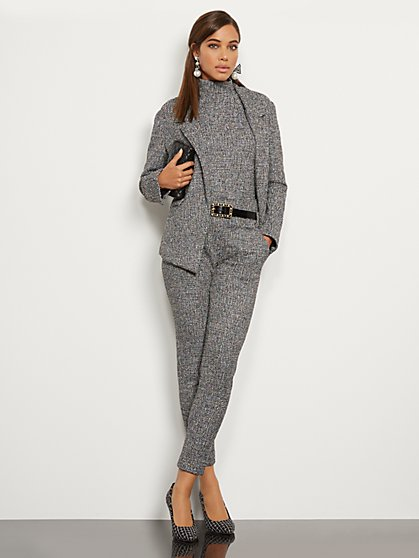 Tall Madie Pant - Boucle - 7th Avenue - New York & Company