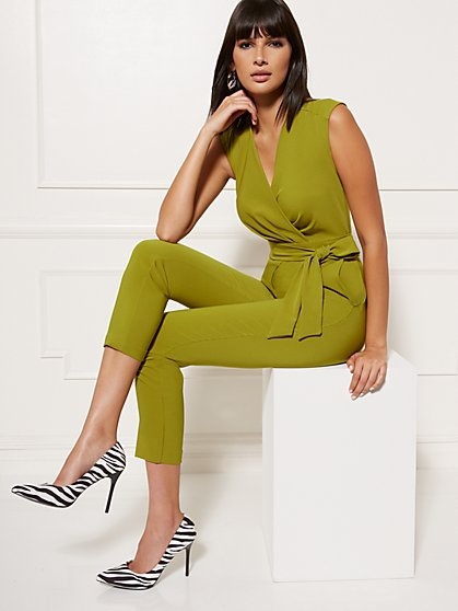Tall Madie Wrap Jumpsuit - 7th Avenue - New York & Company