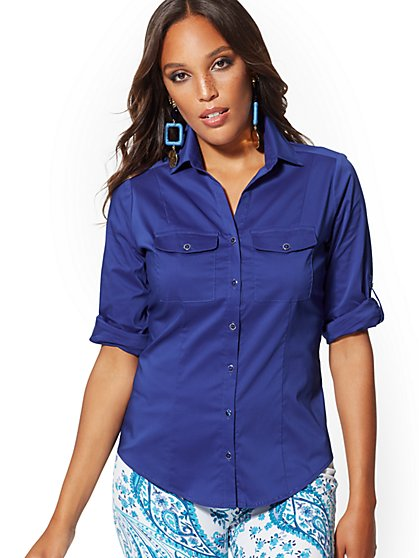 Tall Madison Stretch Shirt - 7th Avenue - New York & Company
