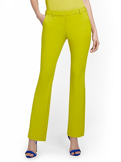Tall Mid-Rise Modern Bootcut Pant - All-Season Stretch - 7th Avenue - New York & Company
