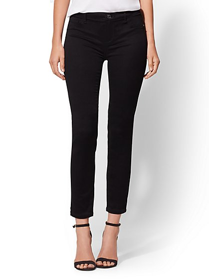 Tall Mid-Rise Super-Skinny Jeans - New York & Company