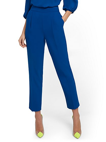 Tall Pleated-Front Pant - 7th Avenue - New York & Company